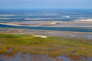 Luftbild Weltnaturerbe Wattenmeer