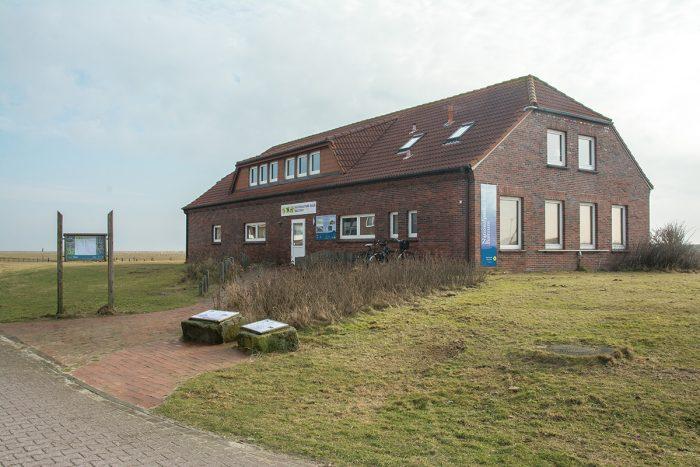 Nationalpark-Haus Baltrum Außenansicht