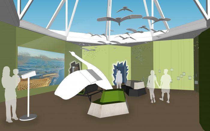 Nationalpark-Haus Greetsiel 3D Modell