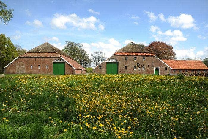Historisches Gehöft in Ostfriesland