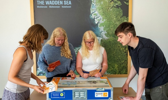 "Lernwerkstatt ""Klimawandel im Wattenmeer"""
