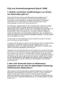 2020 FAQ Seehundmanagement NPV II