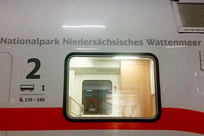 """Der ICE """"Nationalpark Niedersächsisches Wattenmeer"""""""