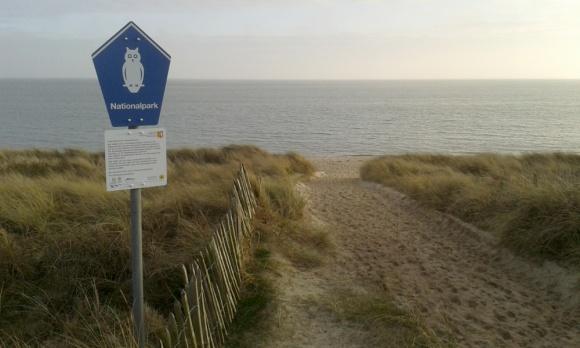 Nationalpark-Schild