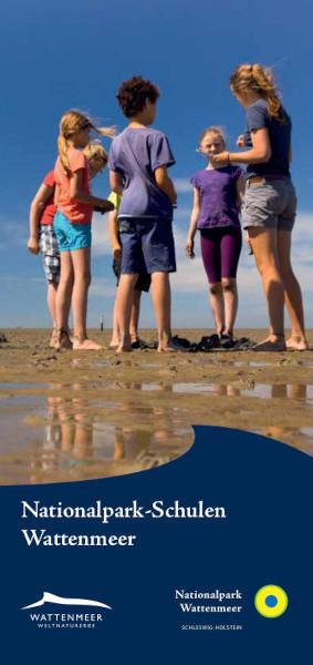 Faltblatt Nationalpark-Schulen Wattenmeer