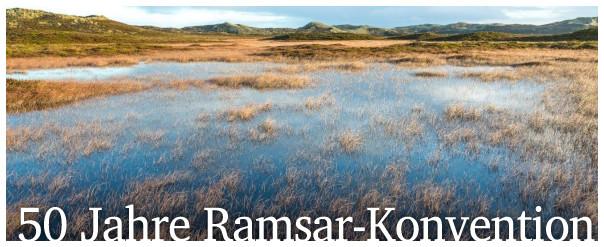 50 Jahre Ramsar-Konvention
