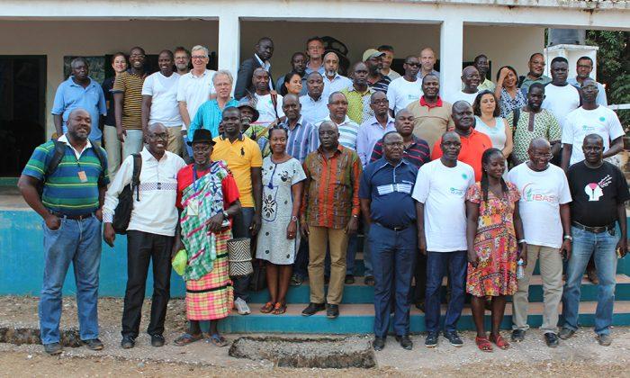 Kolleginnen und Kollegen aus Guinea-Bissau und der Wattenmeerregion.