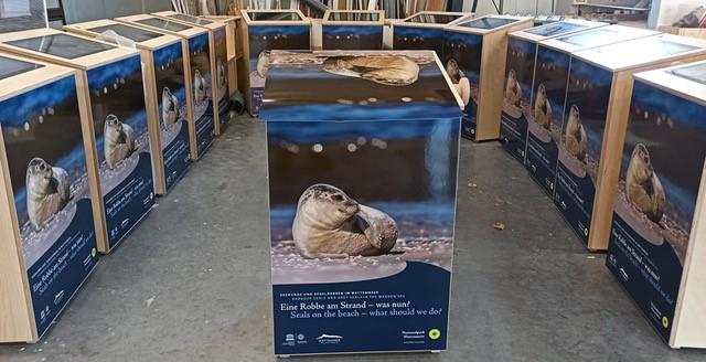 Infoboxen Seehundjäger