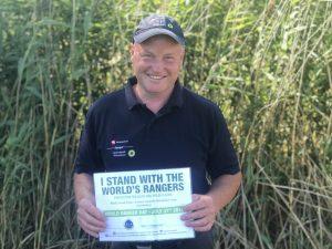 Nationalpark-Ranger Frank Penner informiert anlässlich des World Ranger Days über seinen Beruf