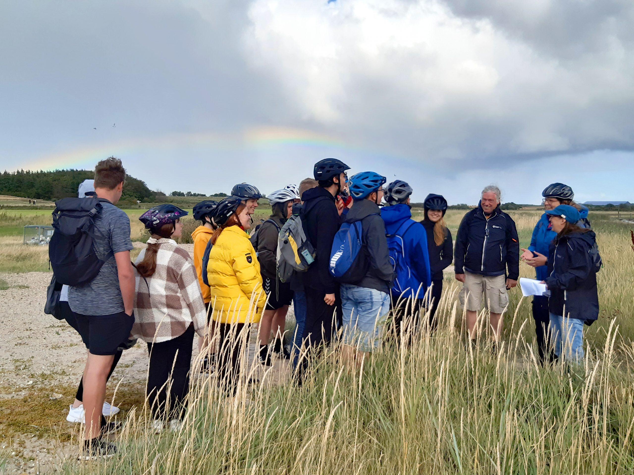 Die Schulklasse lernt den Nationalpark Wattenmeer kennen