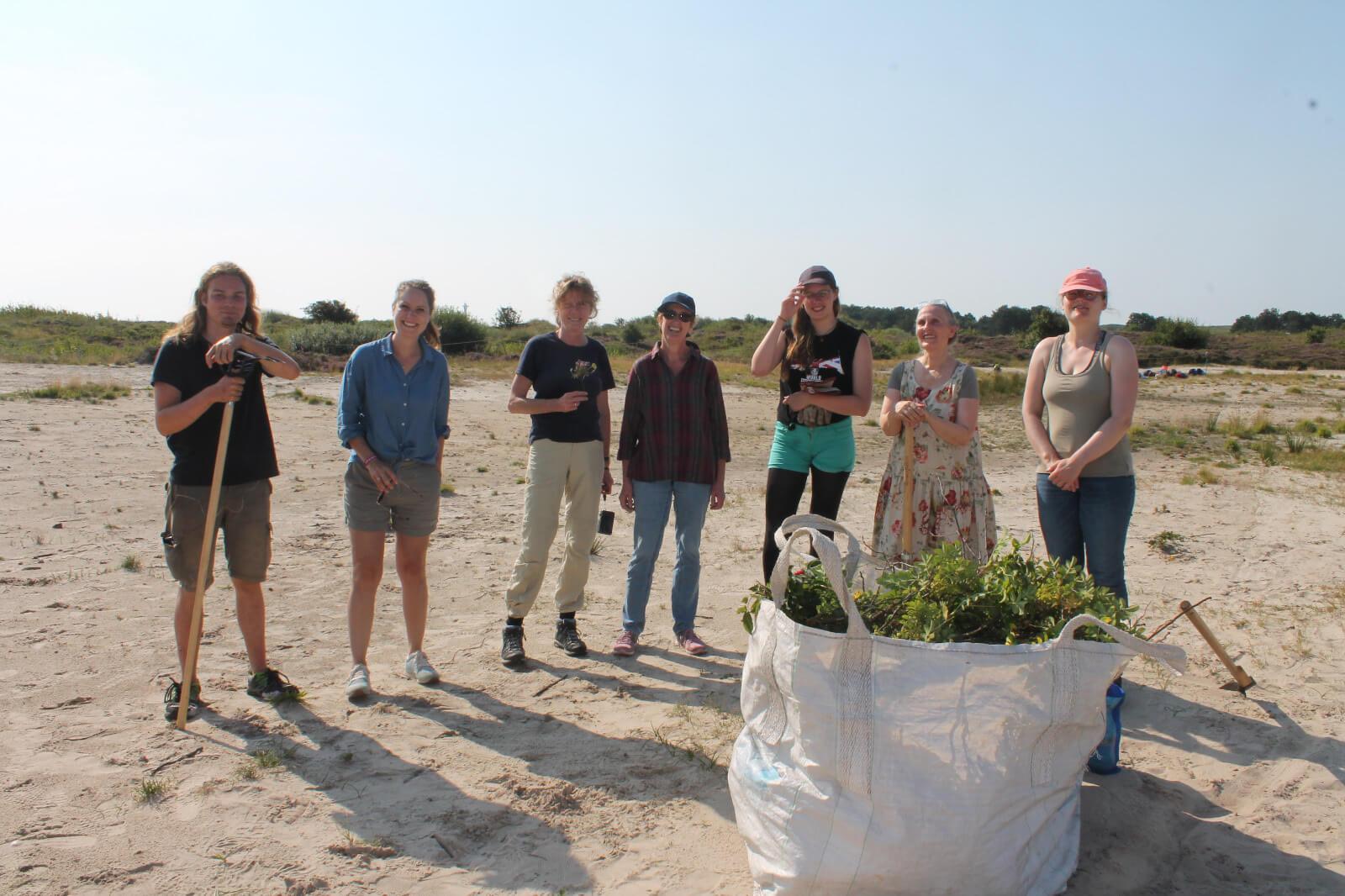 Die Unterstützer:innen des ijgd-Projektes auf Wangerooge