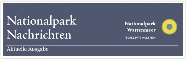 Nationalpark Nachrichten - Aktuelle Ausgabe